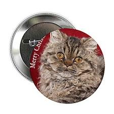 """Selkirk Rex Kitten Ornament 2.25"""" Button"""