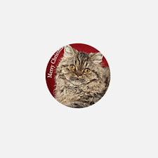 Selkirk Rex Kitten Ornament Mini Button