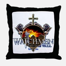 Watchmen on the wall Throw Pillow
