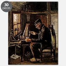 Van Gogh Man Winding Yarn Puzzle