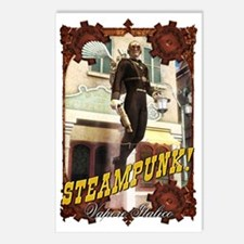 Steampunk - Flying Man Postcards (Package of 8)