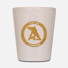 UFO Ashtar Command scifi vintage Shot Glass