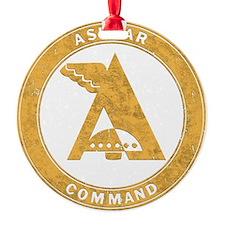 UFO Ashtar Command scifi vintage Ornament