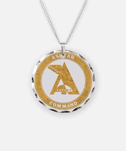 UFO Ashtar Command scifi vin Necklace