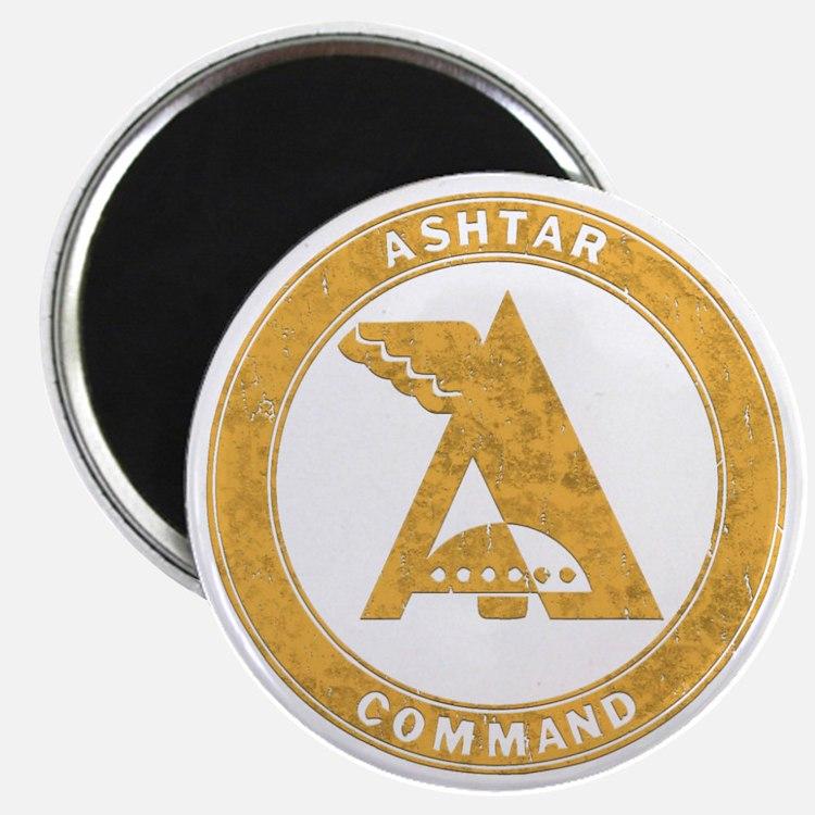 UFO Ashtar Command scifi vintage Magnet