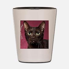 Havana Brown Cat Ornament Shot Glass