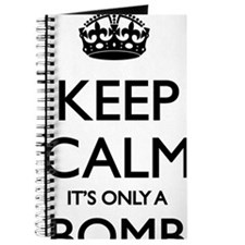 Keep Calm... it's only a Bomb Journal