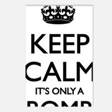 Keep Calm... it's only a  Postcards (Package of 8)