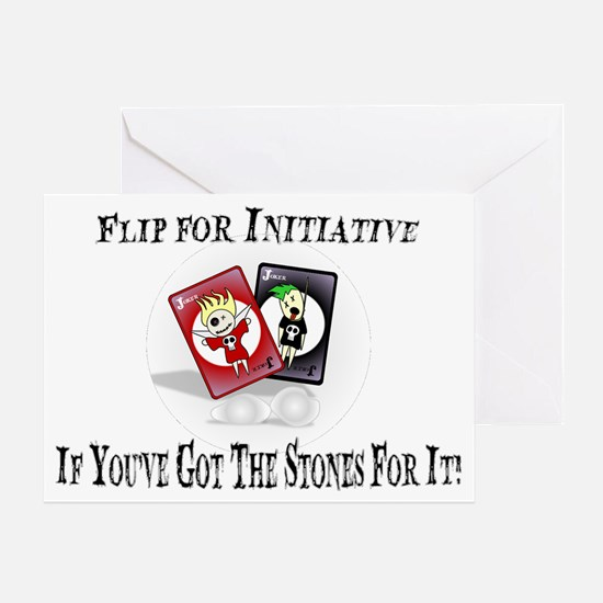If You've Got The Stones For It! Greeting Card