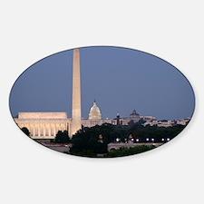 Lincoln Memorial, Washington Monume Decal