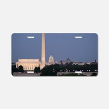Lincoln Memorial, Washingto Aluminum License Plate