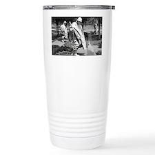 korean war memorial veterans st Travel Mug