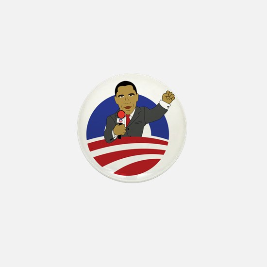 Obama 2012 Mini Button