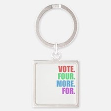 Vote four more for forty-four Shir Square Keychain