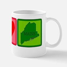 Peace Love Maine Mug