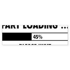LoadingFart1A Bumper Sticker