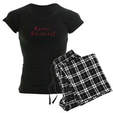 Happy Holidays Pijamas