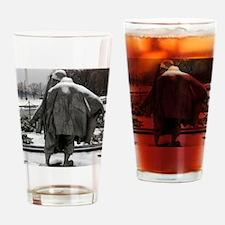 Korean war memorial veterans statue Drinking Glass