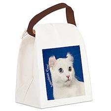 American Curl Ornament Canvas Lunch Bag