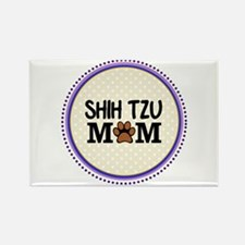 Shih Tzu Dog Mom Magnets