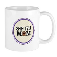 Shih Tzu Dog Mom Mugs