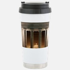 Lincoln memorial at night Travel Mug
