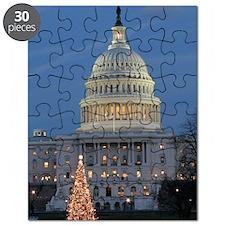 US Capitol Building celebrates Christmas Puzzle
