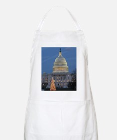 US Capitol Building celebrates Christmas Apron