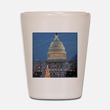 US Capitol Building celebrates Christma Shot Glass
