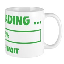 LoadingBrain1D Small Mug
