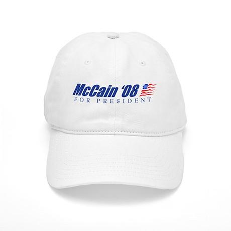 McCain '08 For President Cap