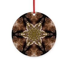 Fisher Mandala Ornament (Round)