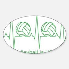 Volleyball is Life Decal