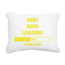 LoadingFart2E Rectangular Canvas Pillow