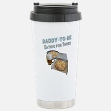 DADDY-TO-BE Eating for Three Travel Mug