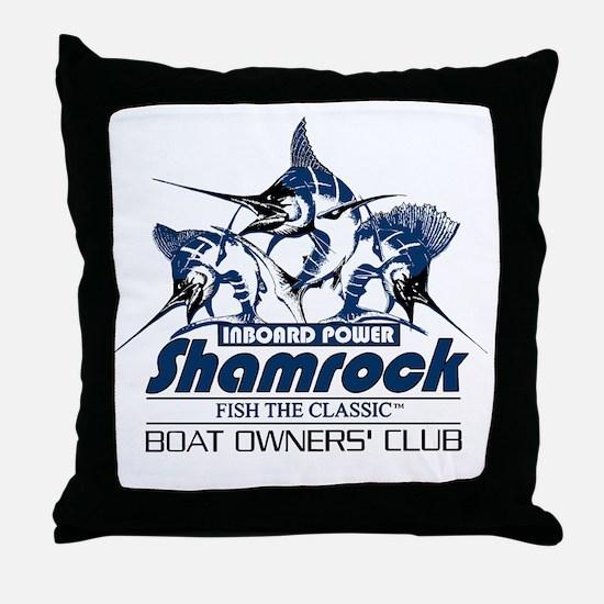 FTC LOGO BLUE Throw Pillow