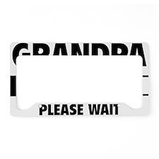 LoadingGrandpa1A License Plate Holder
