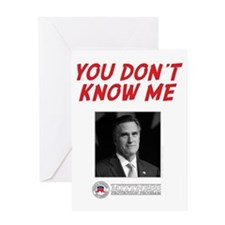 You Don't Know Me Greeting Card