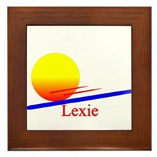 Lexie Framed Tile