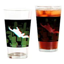 3D FF Skyline Coaster Drinking Glass