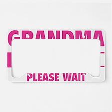 LoadingGrandma1A License Plate Holder