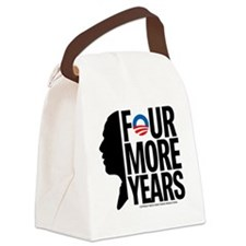 Four More Years Canvas Lunch Bag