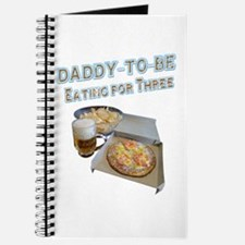 DADDY-TO-BE Eating for Three Journal