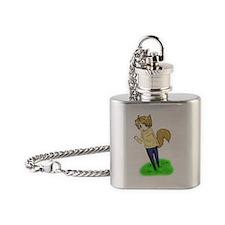 APH - Werewolf Cutie Flask Necklace