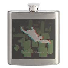 3D FF Skyline Tile Flask