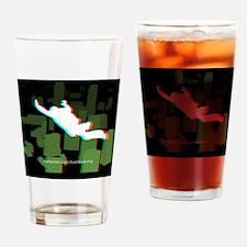 3D FF Skyline Tile Drinking Glass