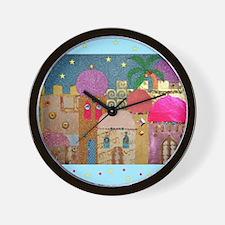 Holy Land Happy Christmas Wall Clock