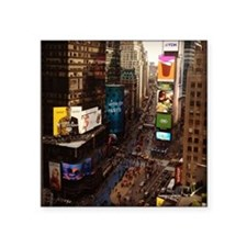 """room with a view... TIMES S Square Sticker 3"""" x 3"""""""