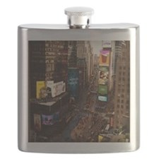 room with a view... TIMES SQUARE Flask