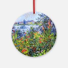 Monet Round Ornament